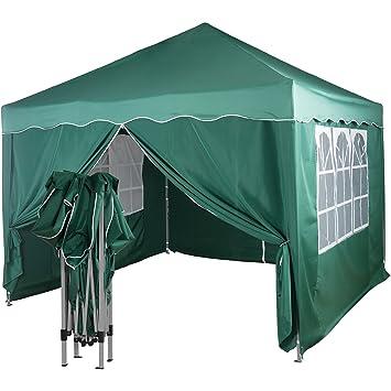 Terren Pavillon Werdicht   Amazon De Instent Pavillon Faltpavillon 3x3m Wasserdicht Din Iso