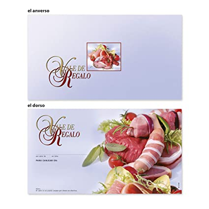 100 tarjetas de regalo vales de regalo de alta calidad con ...