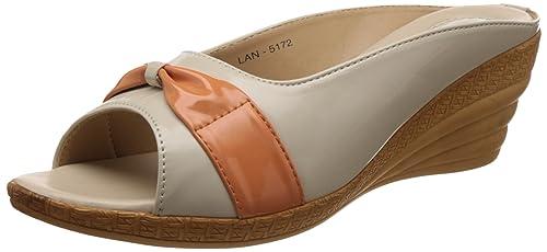 f492d05d8ca Senorita Women s Beige Slippers - 3 UK India (36 EU)  Buy Online at ...