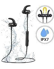 Compatibile con iPone Samsung iOS Android e Altri Smartphone. Mpow Auricolari  Bluetooth Sport 4.1 Magnetici S10 4c718bc3c520