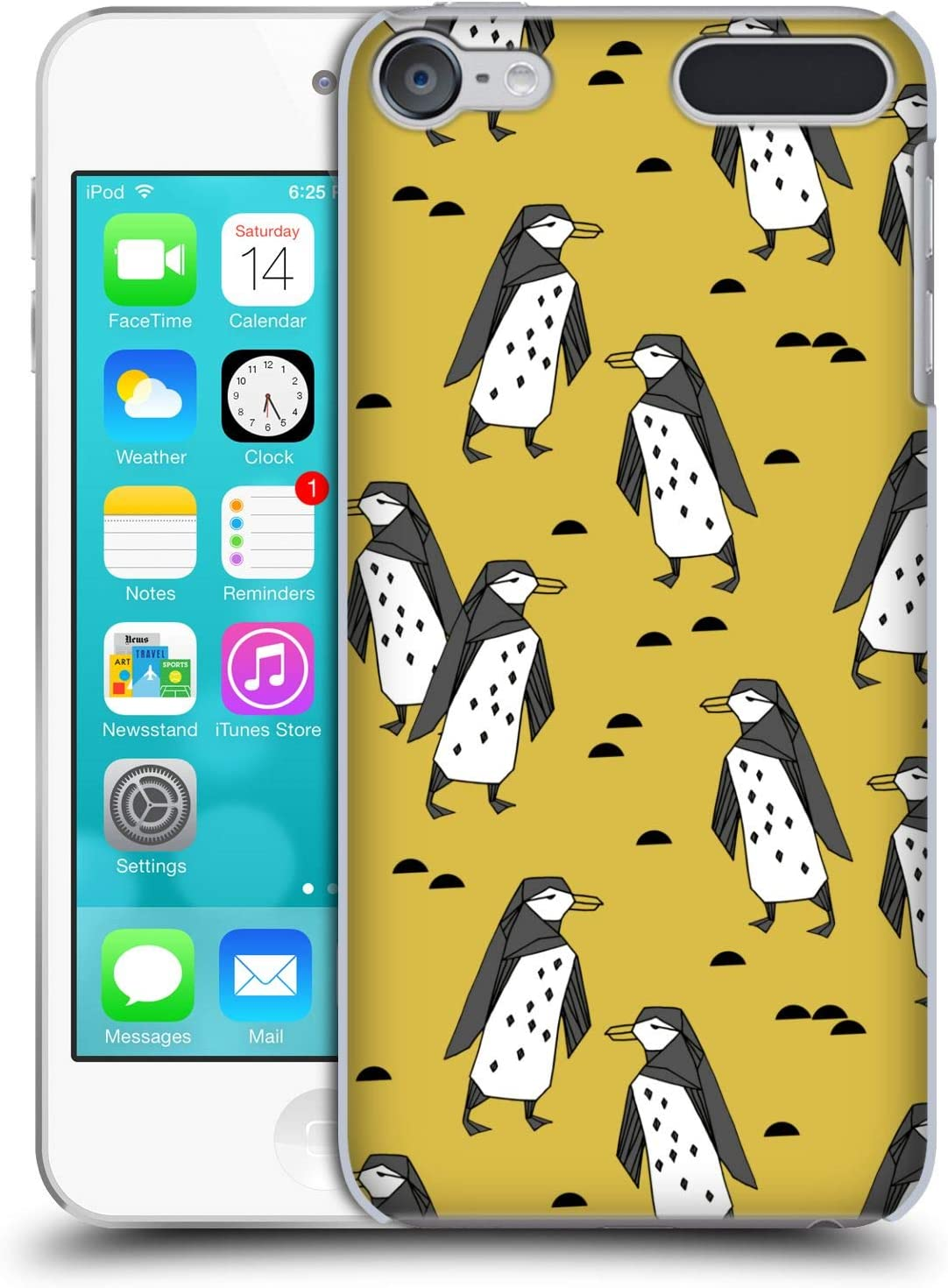 Official Andrea Lauren Design Puffins Birds Hard Back Case Compatible for Touch 6th Gen//Touch 7th Gen