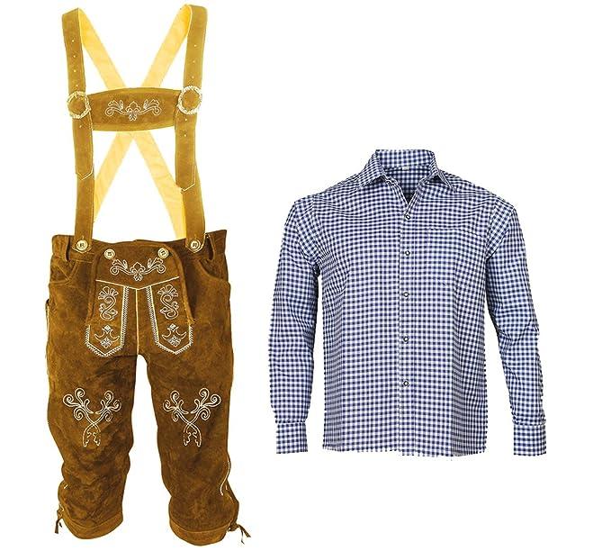 Piel - Pantalón + Traje típico de camisa Set diseño de traje ...