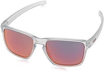 Oakley Sliver XL, Montures de Lunettes Homme, Blanc (Matte  Clear Torchiridium) 17c18e284633