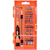 TOPELEK GEDS009AY, 58 in 1 Magnetico con 54 Bit Driver Kit