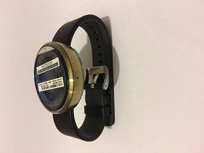 Motorola Moto 360 reloj inteligente pulsera Bluetooth resistente al agua – acabado dorado