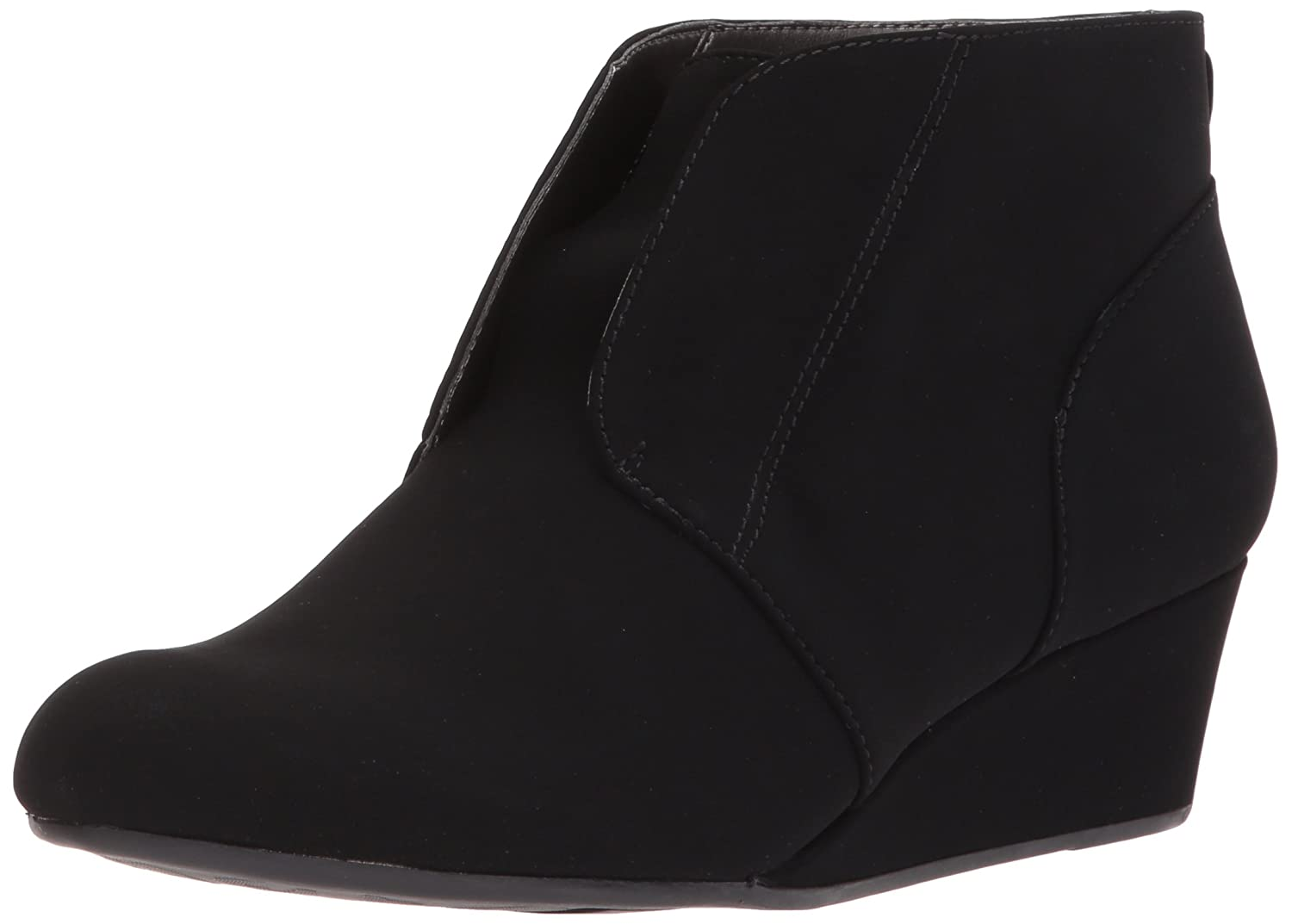 LifeStride Women's Lonnie Ankle Boot B075FCJ1WG 10 B(M) US|Black