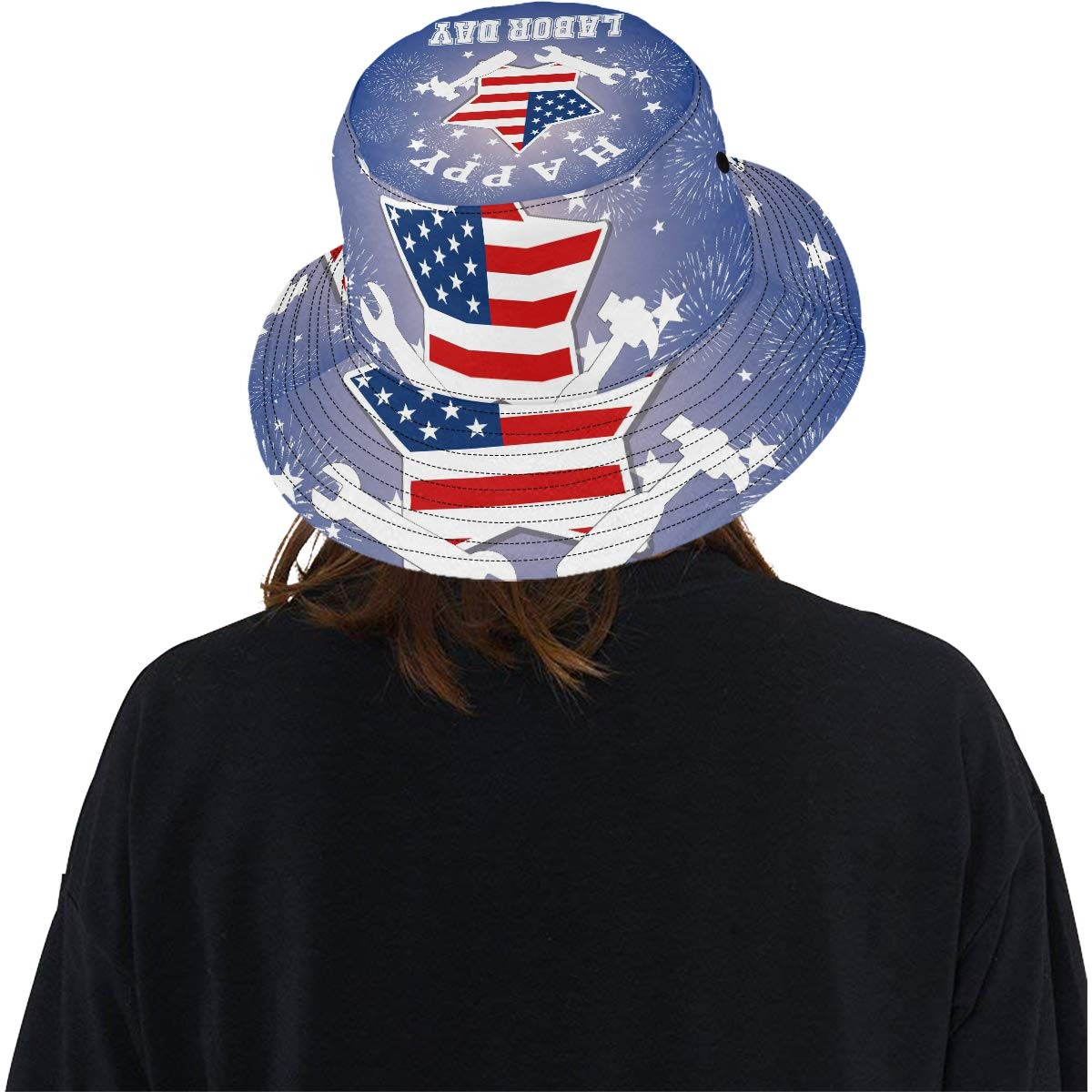Happy Labor Day for Basic and Equal Rights New Summer Unisex Cotton Fashion Fishing Sun Bucket Hats for Kid Teens Women and Men with Customize Top Packable Fisherman Cap for Outdoor Travel