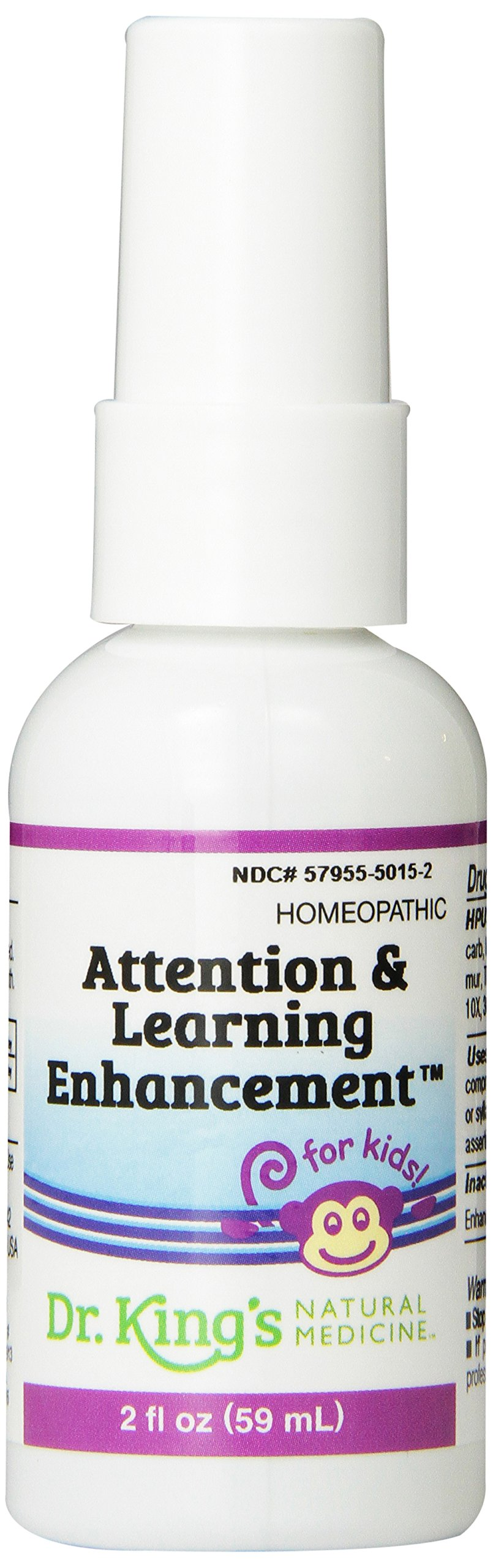 Dr. King's Natural Medicine Attention and Learning Enhancement, 2 Fluid Ounce
