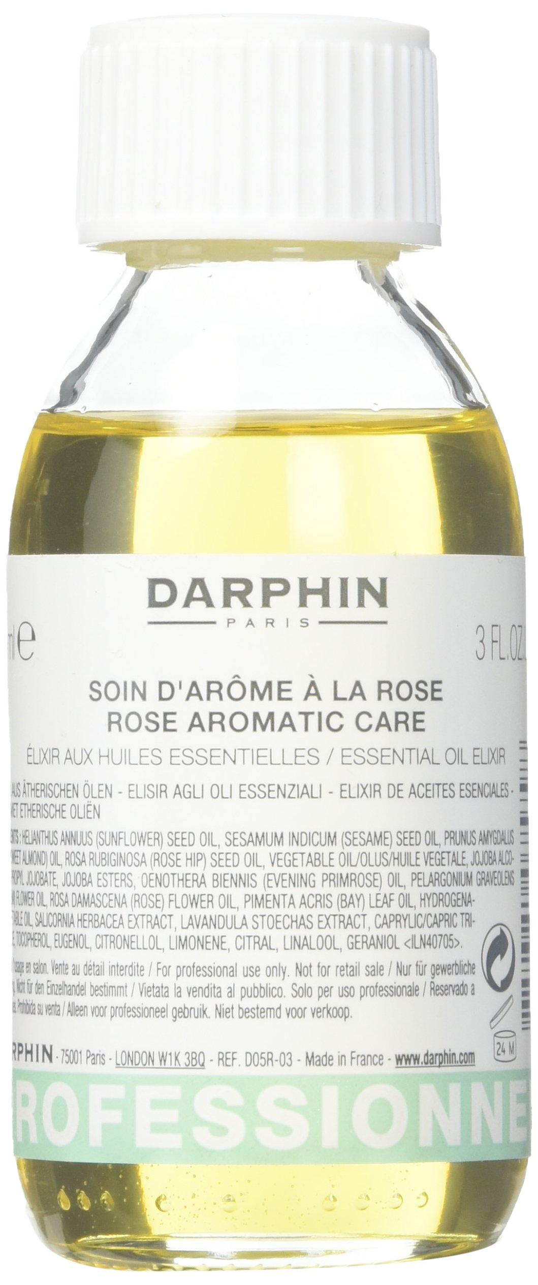 Darphin Rose Aromatic Care Essential Oil Elixir for Women, 3 Ounce