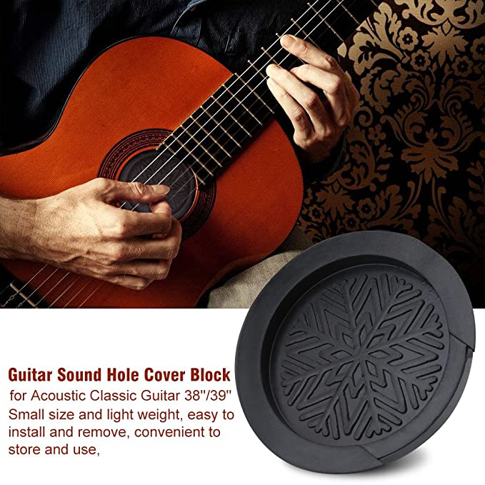 Amazon com: Guitar Sound Hole Cover, 38/39 Inch Acoustic