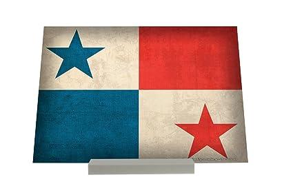 Soporte Fotografias Aventurero bandera de Panamá Letrero Decoración