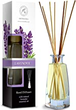 Reed Diffuser with Natural Essential Oil Lavender 3.4 oz (100ml) -