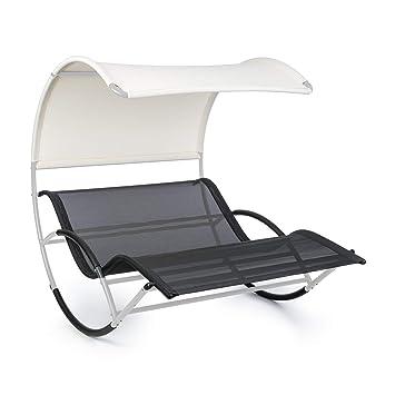 Easy • Protection Uv Acier Big Résistant Bascule Toit Intempéries Blumfeldt Imperméable Chaise Longue The Aux À Ergonomique TFK3ul1cJ