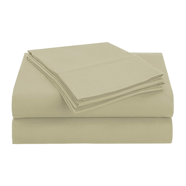 Superior 1500 Series Brushed Microfiber Solid Sheet Set