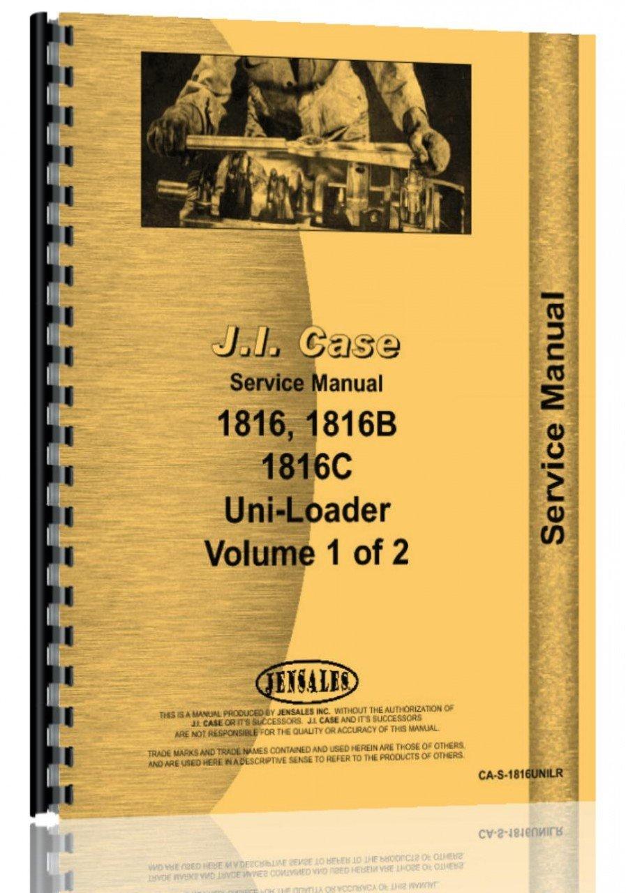 Download Case 1816 Uniloader Service Manual PDF