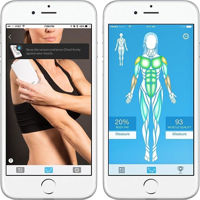 Le Skulpt Scanner mesures Body Fat pourcentage identifie muscle NEUF