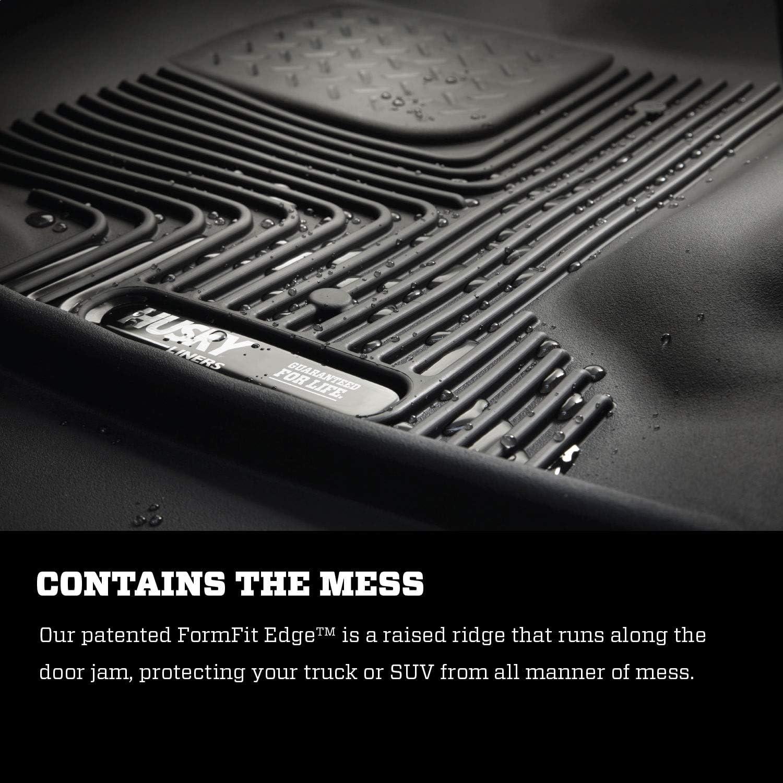 Husky Liners 53581 Black X-act Contour Series 2nd Seat Floor Liner