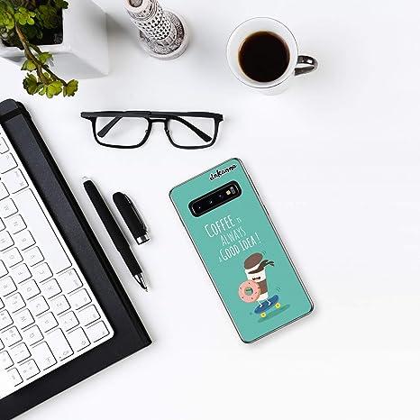 dakanna Funda para Samsung Galaxy S10 | Comida Café y Donut ...