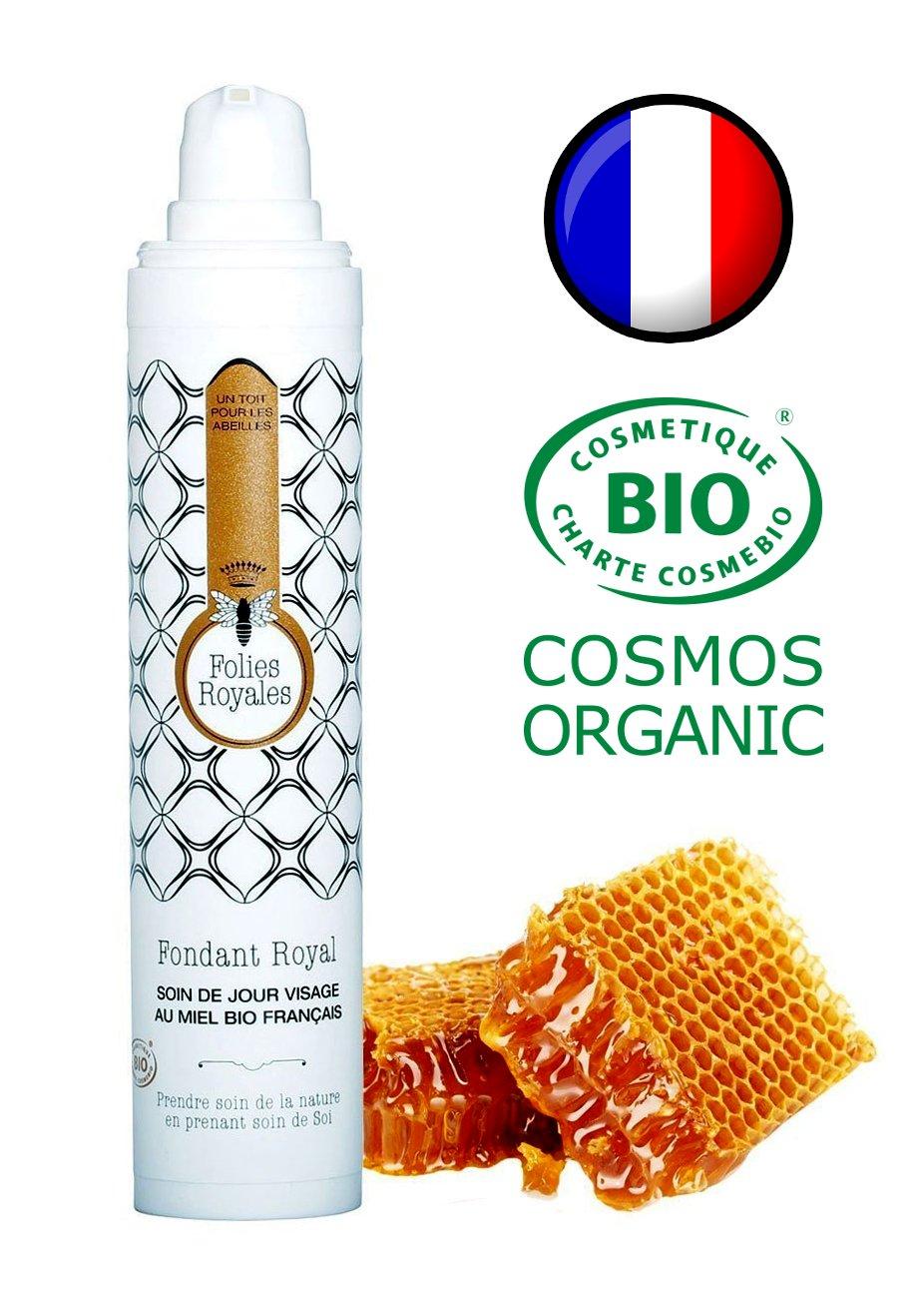 Crème de Jour Hydratante Bio - Soin Visage Naturel Nourrissant à la Gelée Royale et Miel de Thym - Made in France, Certifié Bio - 50 ml product image