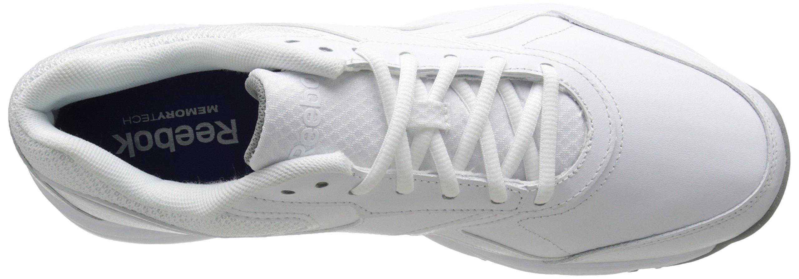 37c34e04 Reebok Men's Work N Cushion 2.0 Walking Shoe, White/Flat Grey, 8.5 ...
