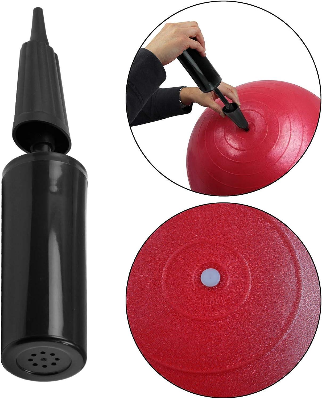 BB Sport Gymnastikball in vielen Farben und Gr/ö/ßen Sitzball mit Ballpumpe Pezziball in den Ma/ßen 55 65 75 85 cm