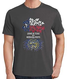 Tenacitee Babys Living in Nebraska Texas Roots Shirt