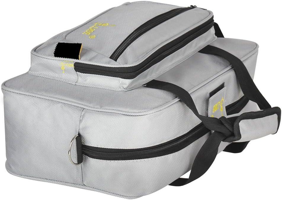 Festnight Universal Oboe Clarinet Soft Carrying Bag Backpack Case Sponge Padding with Shoulder Strap