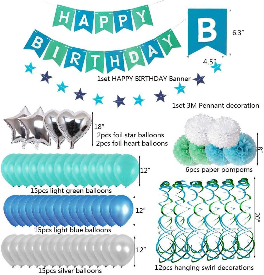 Amazon.com: Decoraciones de primer cumpleaños, suministros ...
