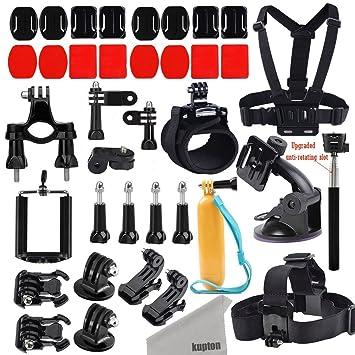 Kupton GoPro Accessories Kit for GoPro Fusion/ GoPro Hero 6/5 / Hero 5