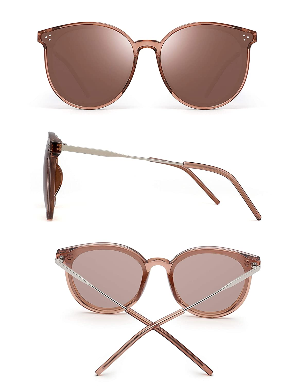 Gafas de sol retro lentes marrón POLARIZADAS. Nueva marca   Etsy