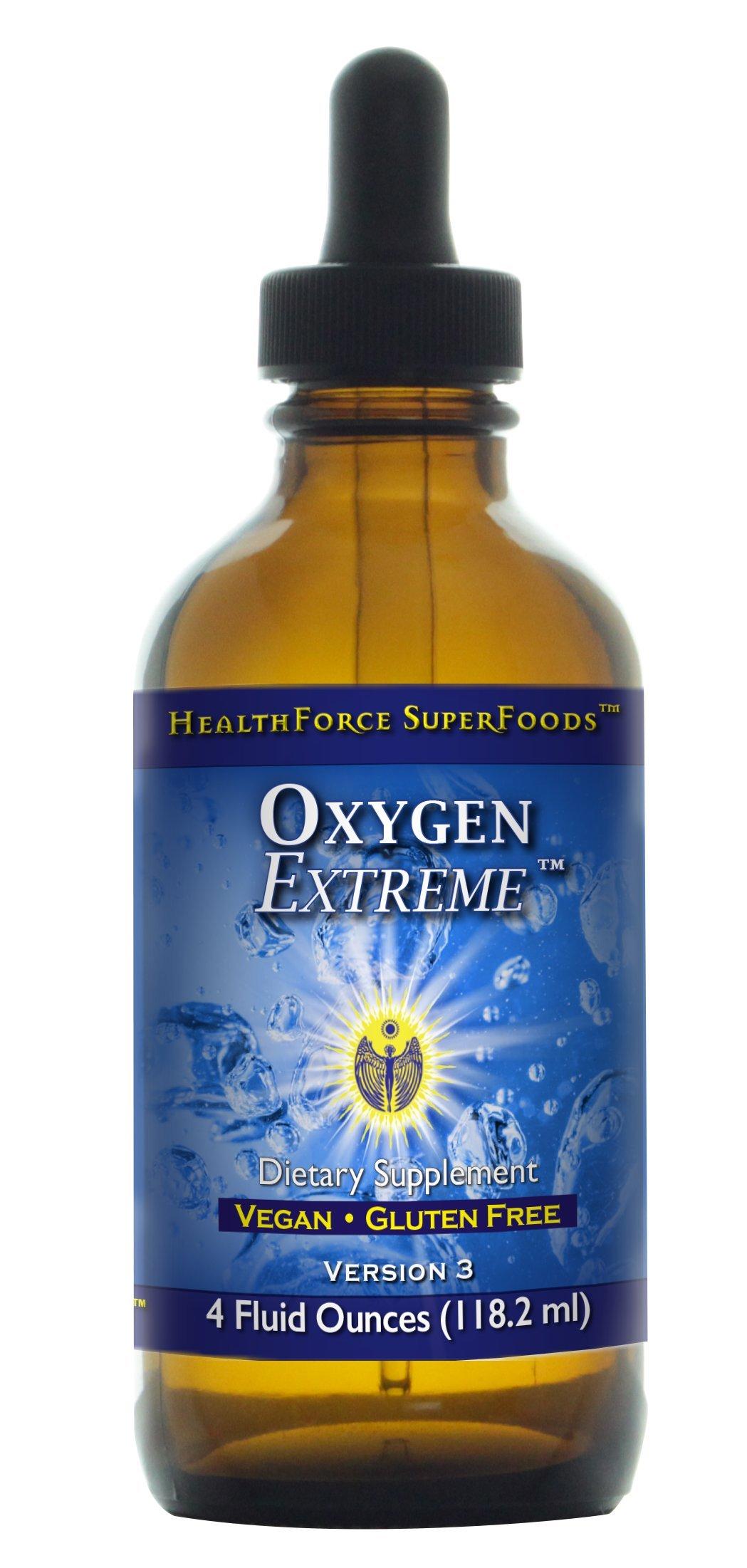 HealthForce SuperFoods Oxygen Extreme 4 Ounces Liquid