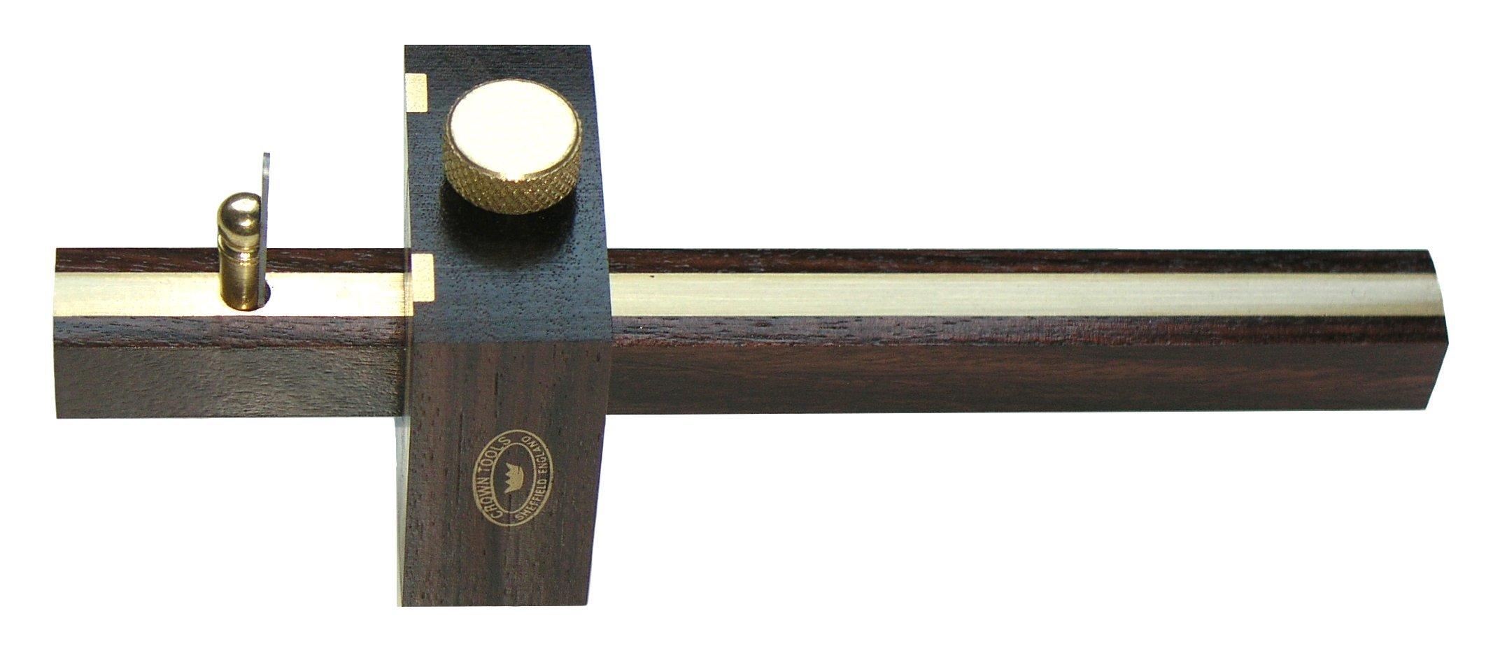 Crown Tools 143 / Big Horn 20153 Miniature Cutting Gauge, Rosewood