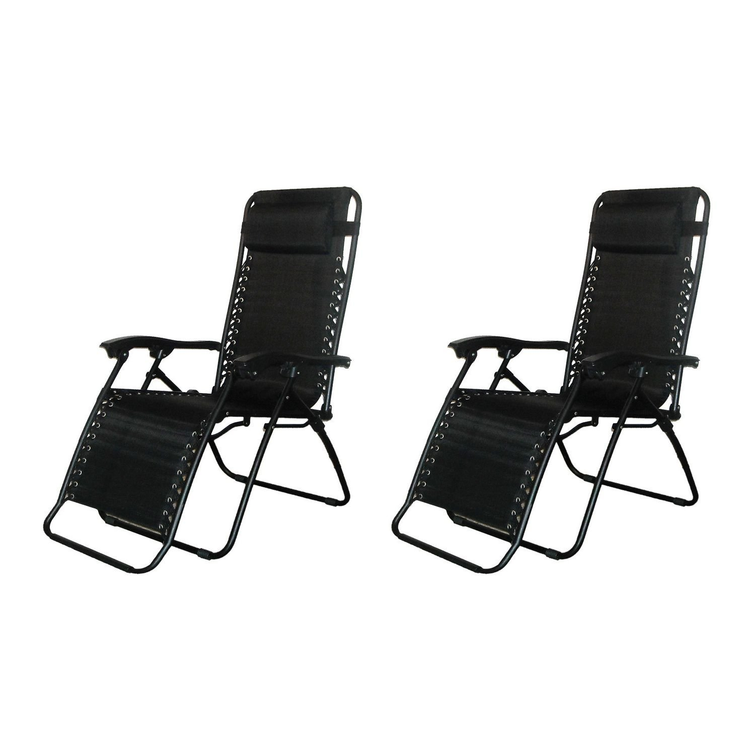 amazon com infinity zero gravity chair black 2 pack kitchen