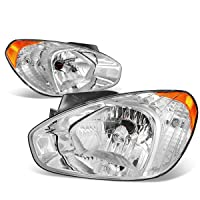 DNA MOTORING HL-OH-048-CH-AM Headlight Assembly, Driver and Passenger Side