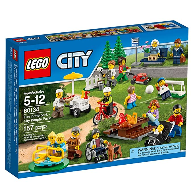 LEGO City Town 60134 Fun in the park - City People Pack Building Kit (157 Piece) by LEGO: Amazon.es: Juguetes y juegos
