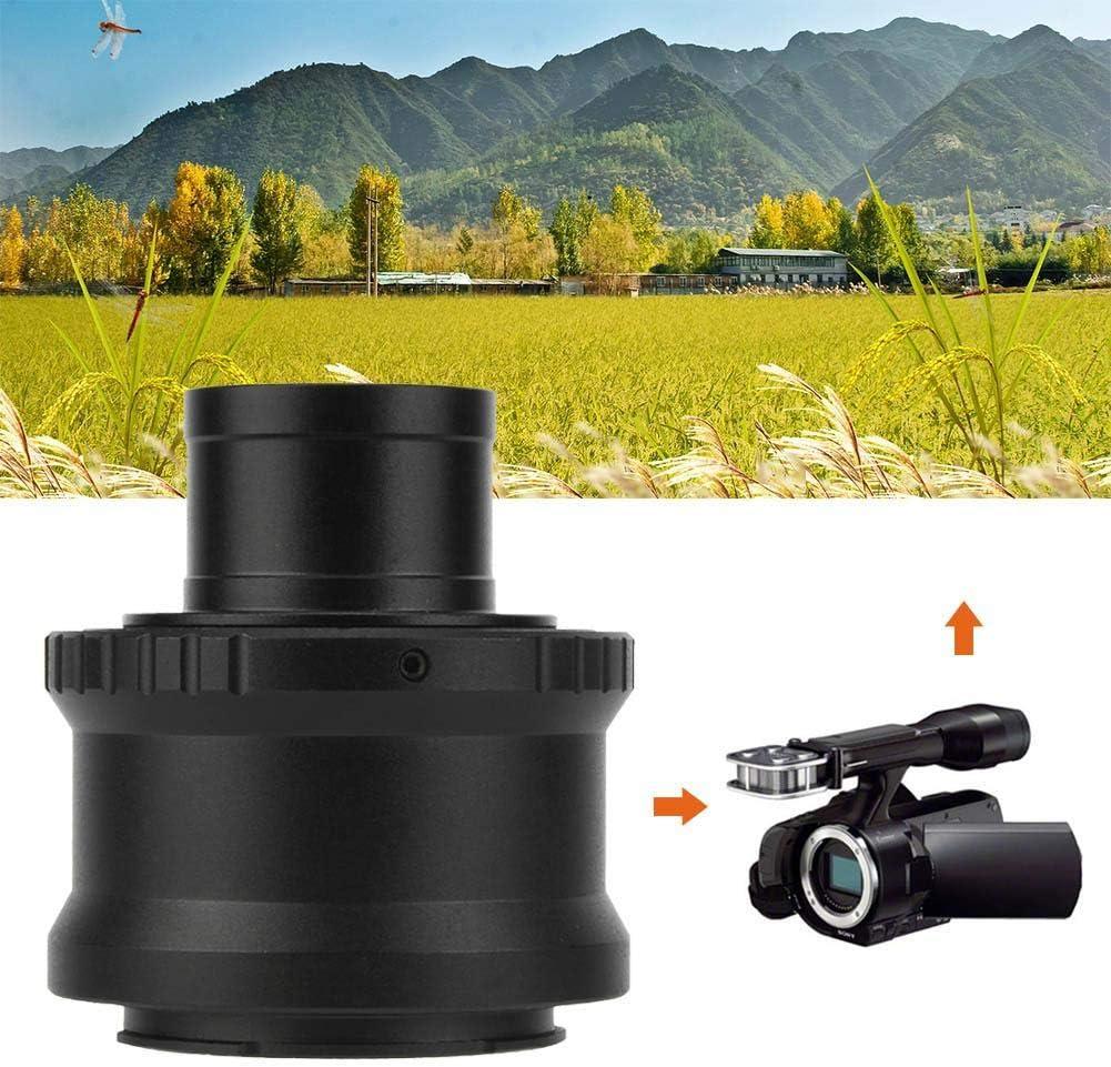 Mugast T2-NEX Metal Adapter Ring 1.25 inch Telescope Mount Adapter Ring for Sony NEX E Mount Camera