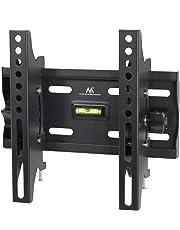 "Maclean - Mc-667, Soporte Fijo de Pared para Pantalla lcd led tv (13-42"", 25 kg, vesa), Negro, 50x50mm para 200 x 200 mm"