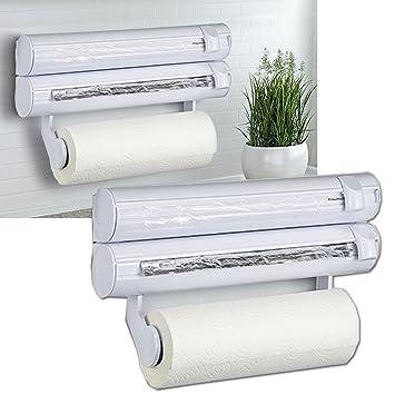 Küchenrollenhalter 3 in 1 Wandrollenhalter Küchenrollen halter ...