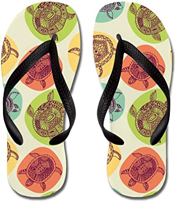 Lplpol Colorful Music Flip Flops for Kids and Adult Unisex Beach Sandals Pool Shoes Party Slippers