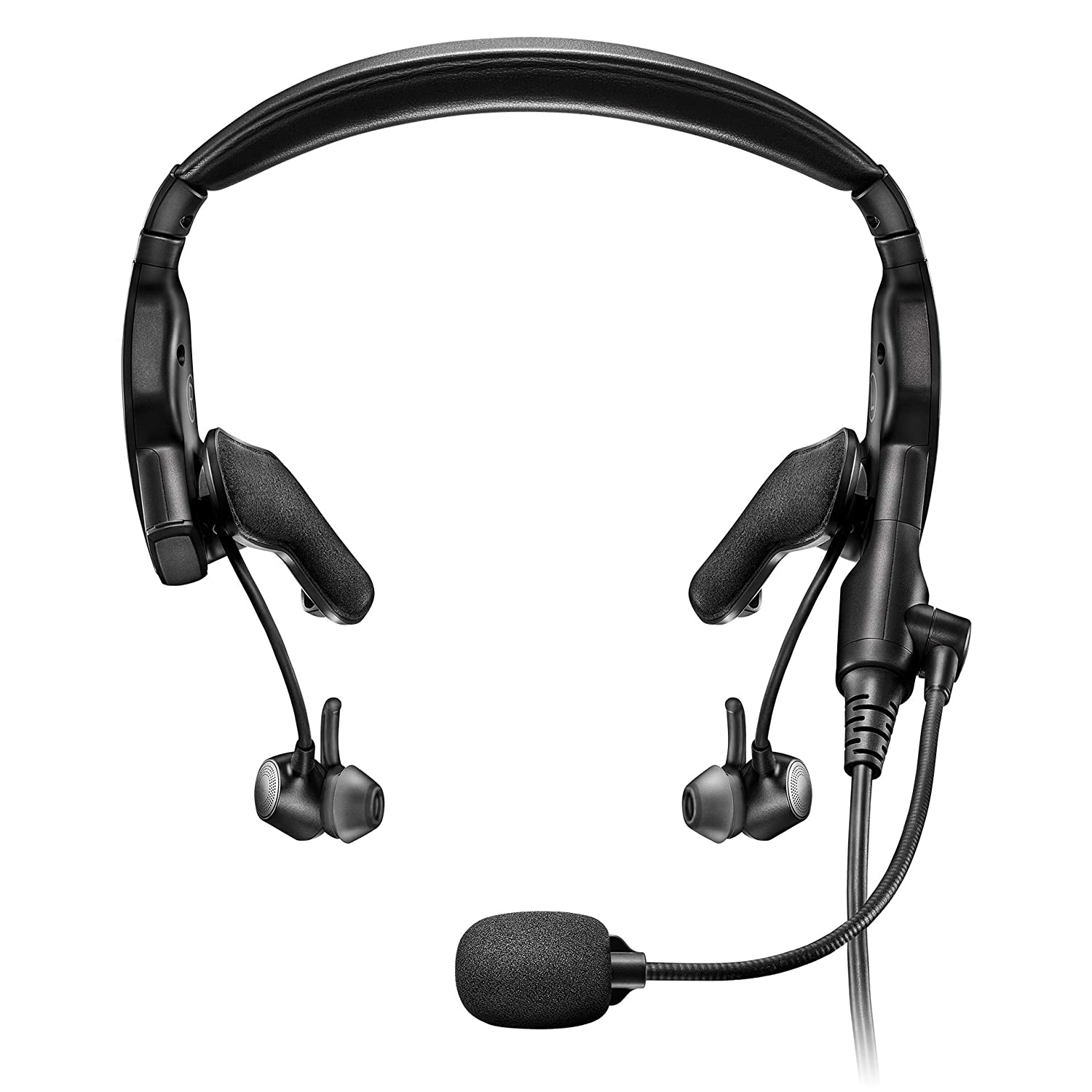 Bose Proflight Series 2 Aviation Headset with Bluetooth Connectivity, 5 Pin XLR Cable, Black