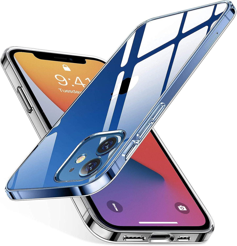 Aodoor Crystal Clear Hülle Kompatibel Mit Iphone 12 Und Elektronik
