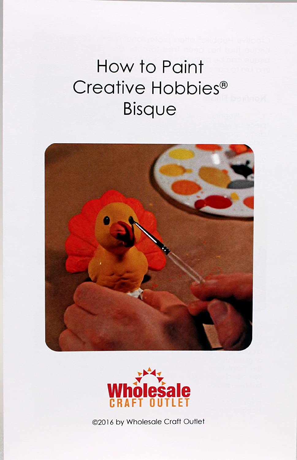 Creative Hobbies Un-Glazed Ceramic Bisque Tiles for Decorating with Underglazes and Glazes 4.25 X 4.25 Inch Square Includes How to Paint Bisque Book Pack of 10