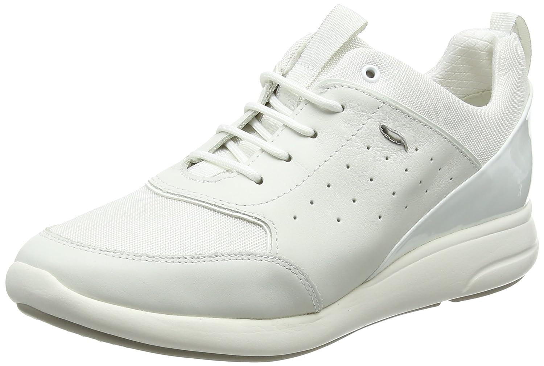 Geox D Ophira B, Zapatillas para Mujer 41 EU|Blanco (Off White C1352)