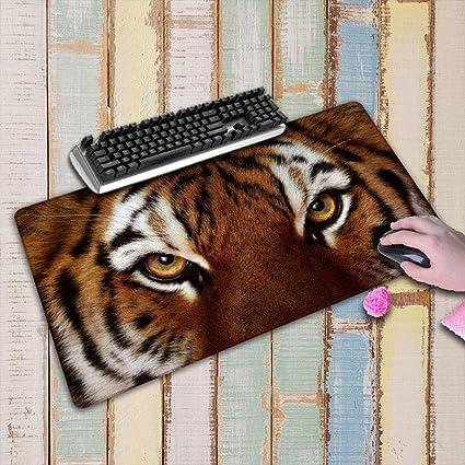 HONGHUAHUI Tiger Face Anime Mouse Pad Cojín de ratón ...