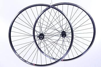 Par 700 C (622 x 13) bicicleta de carretera Racer ruedas 8 o 9 ...