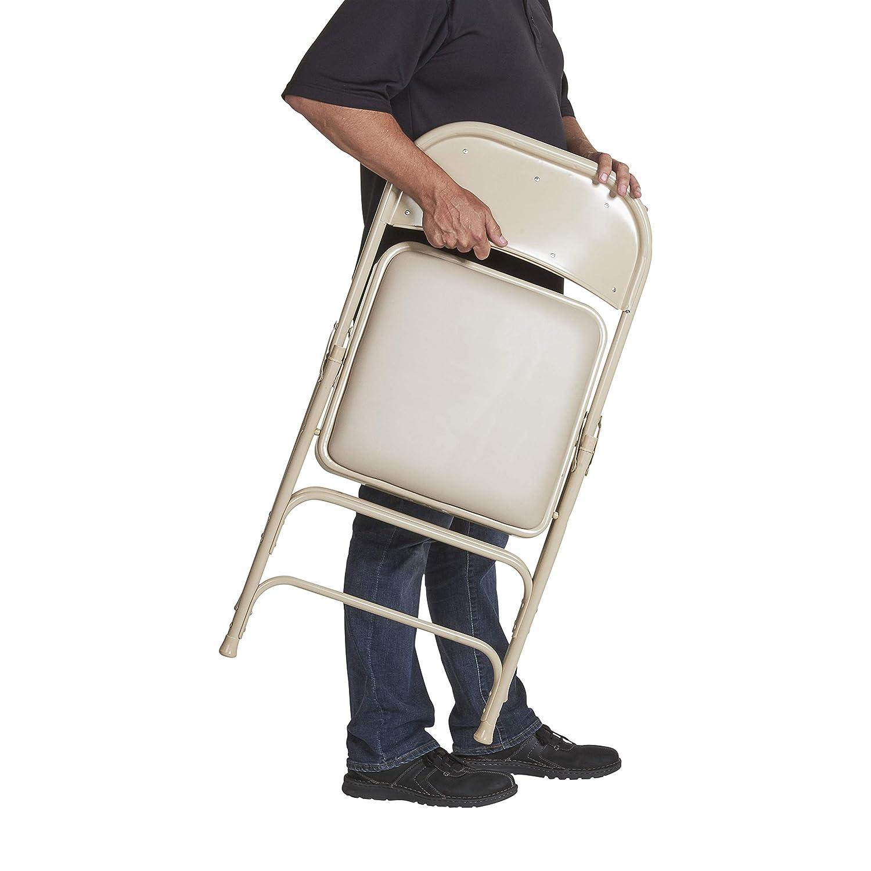 Amazon.com: Todos los Vinilo acolchado silla plegable de ...