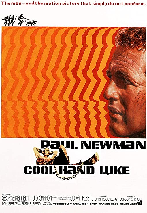 "Paul Newman Simply Do Not Conform 13/"" x 19/"" Movie Poster 1967 Cool Hand Luke"