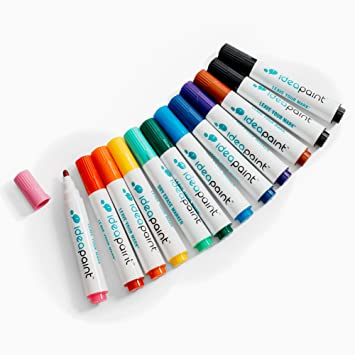 Amazoncom Ideapaint Write Dry Erase Markers 12 Pack Low Odor Non