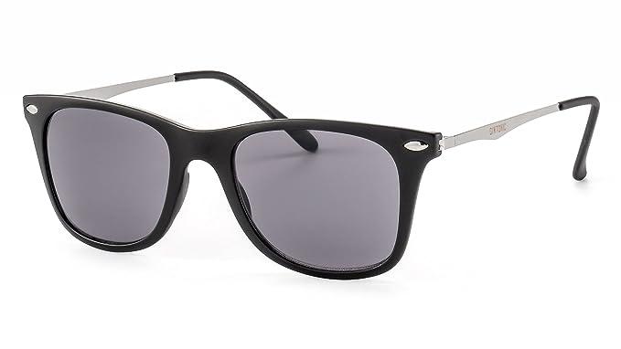 GIN TONIC Leichte Sonnenbrille/Eckige Sonnenbrille in matter Optik für Damen und Herren F2502678 Eah1SdGI