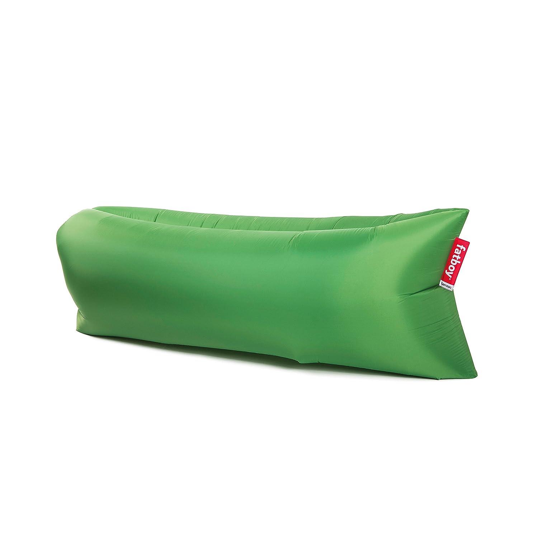 lamzac Fatboy 2.0 Grass Green - Fácil de inflar I con Mochila práctica para guardarlo I No Necesita inflador I Revestimiento Impermeable para Utilizar ...
